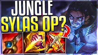 WAIT..IS JUNGLE SYLAS' BEST ROLE?? OP GANKS - Sylas Jungle Gameplay - League of Legends