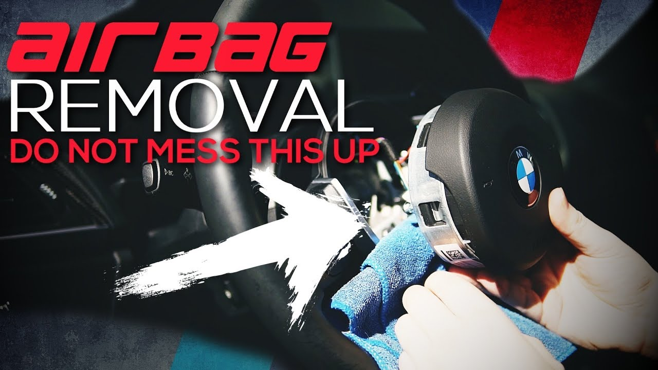 BMW F30 Airbag removal (The RIGHT way!)
