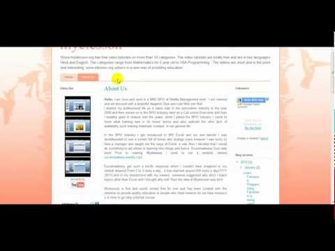 Create a Blog Page with Website Type Layout