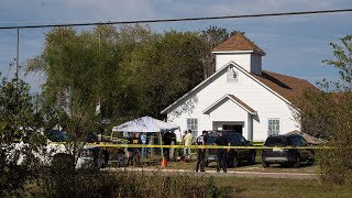 Sutherland Springs church shooting: Sheriff describes horror at scene