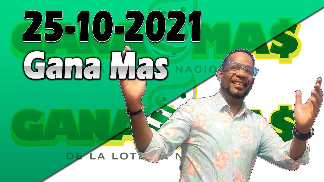 Resultados y Comentarios Gana Mas 25-10-2021 (CON JOSEPH TAVAREZ)