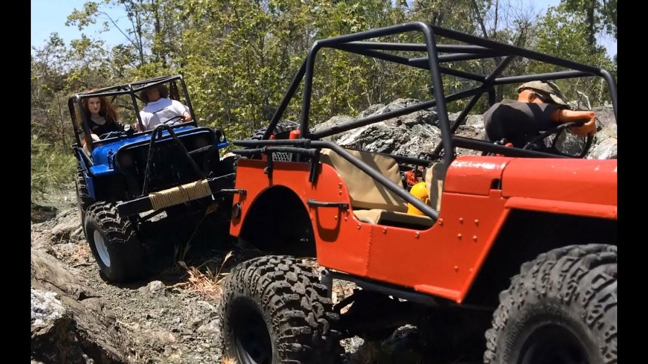 South County Jeep >> Dos Amigos #8 - rc Willys Jeep rock crawling - off road ...