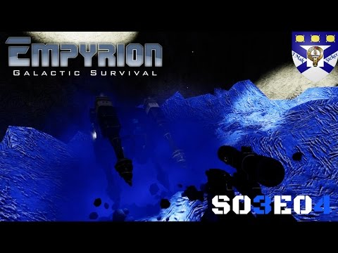 "Empyrion Galactic Survival (S03) -Ep 4 ""HV Mining Driller Test"" -Multiplayer ""Let's Play"""