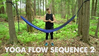 Hammock Yoga Flow Sequence 2
