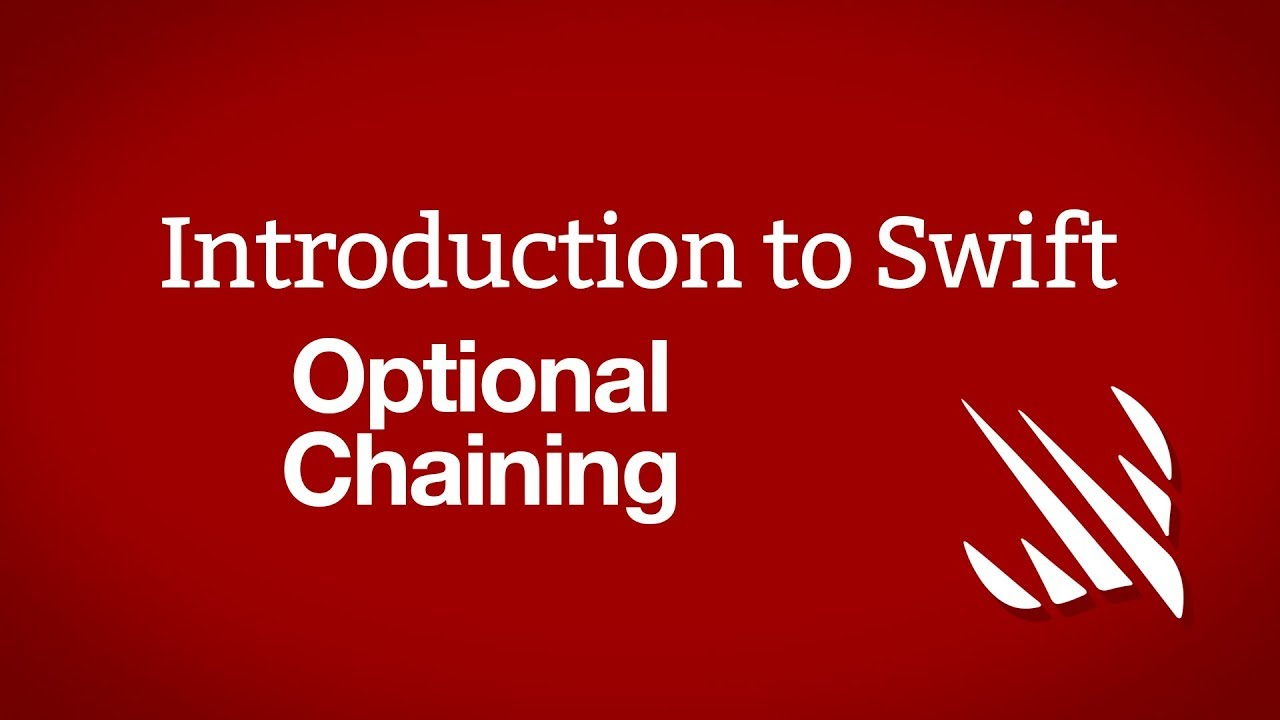 Introduction to Swift: Optional chaining