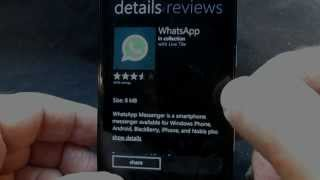 Official WhatsApp for Windows Phone 8