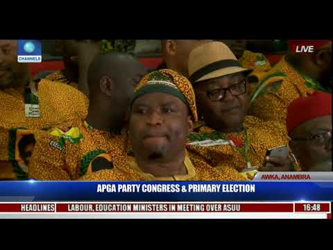 APGA Party Congress & Primary Election Pt.25 | Live Coverage