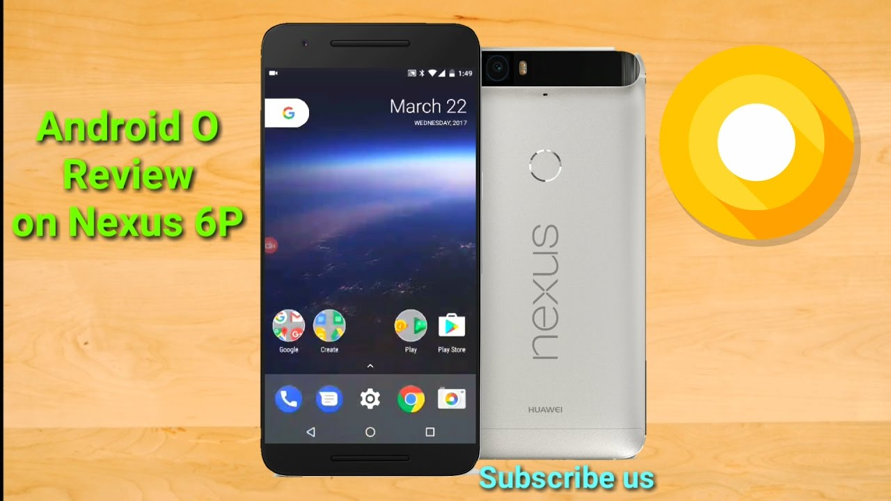 Android O REVIEW On Nexus 6P 2017 - SStech - YouTube