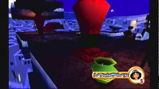 Ps1 game: Aladdin In Nasira's Revenge-Crumbled Palace Level 1