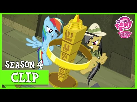 Rainbow Dash Helps Daring Do (Daring Don't) | MLP: FiM [HD]