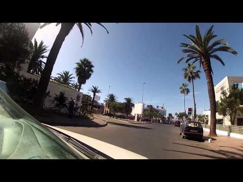 Trip to the beach. Casablanca, Morocco
