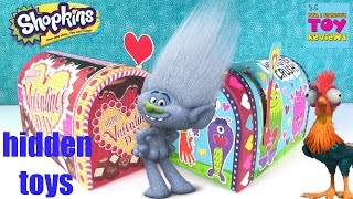 Disney Moana Trolls Shopkins Tsum Tsum Lego Blind Bag Surprises   PSToyReviews