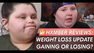 Reviewing/Yelling at WEIGHT LOSS UPDATE | GAINING OR LOSING? with Amberlynn Reid