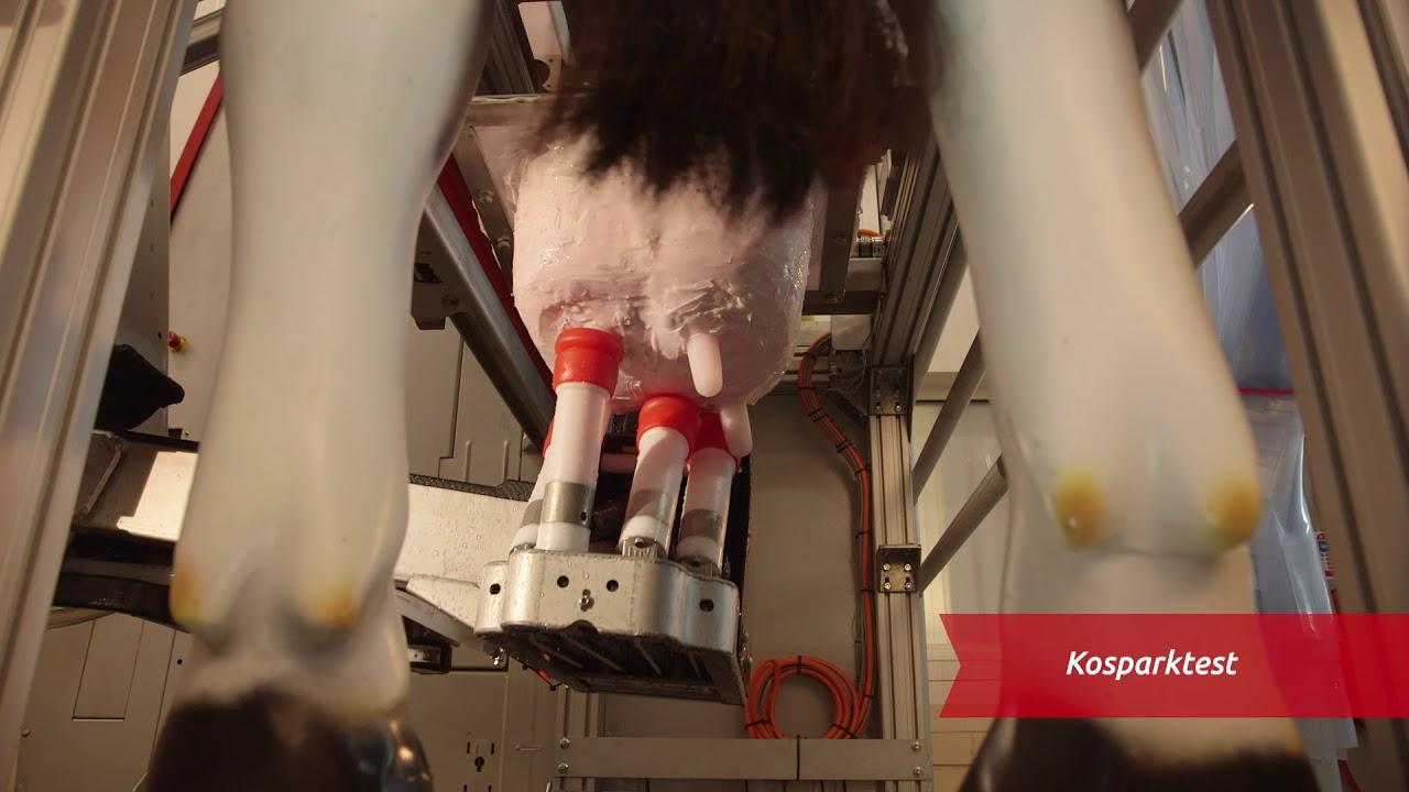 Lely Astronaut A5 - Testning (Dansk)