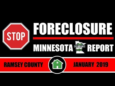 Stop Foreclosure MN Report | RAMSEY COUNTY | JANUARY 2019