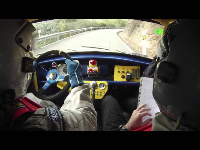 XXXI Rally Sierra Morena MiniOnboard Travel Video