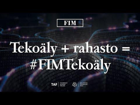 LIVE: FIM Tekoäly -rahasto Millennium Talks –seminaarissa – FIM
