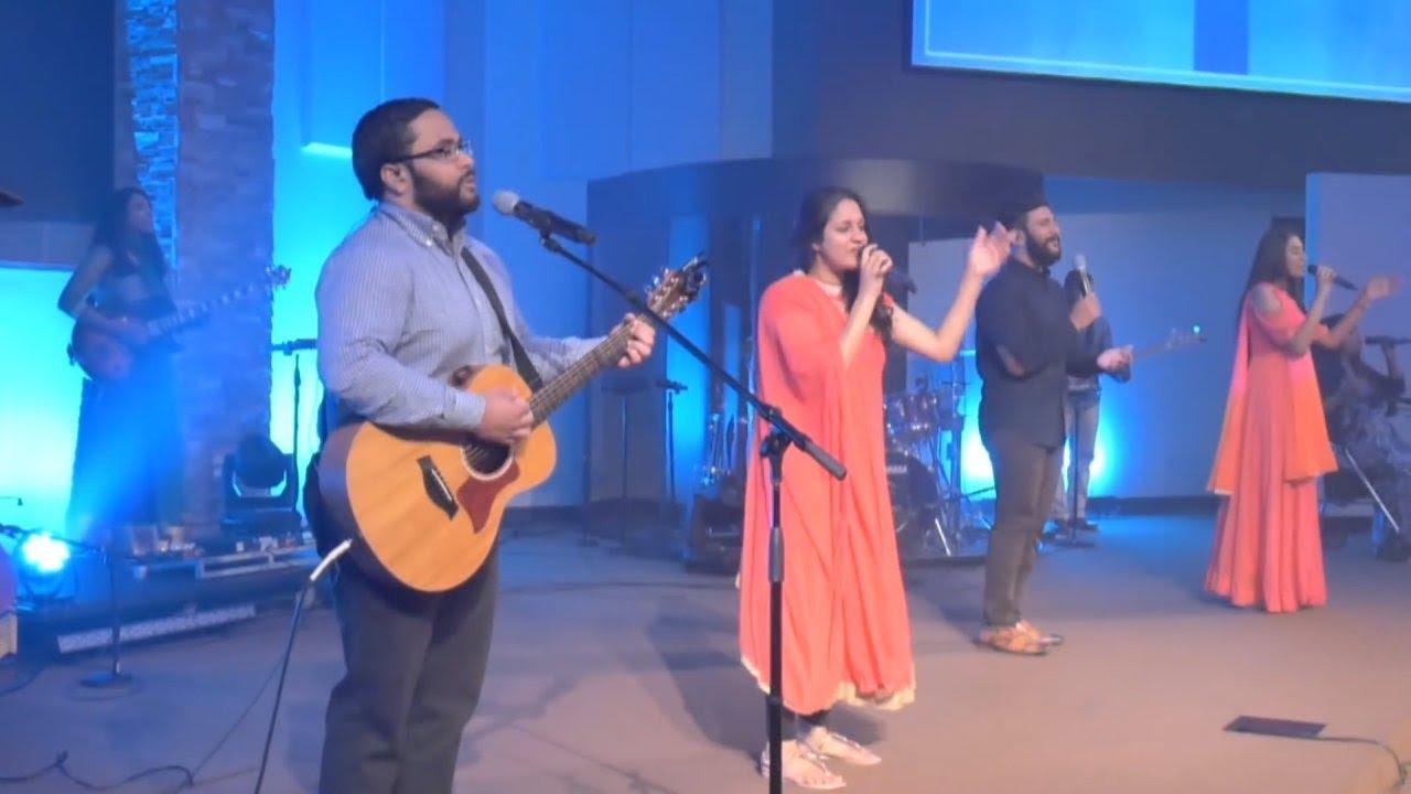 Mighty Cross : Praise & Worship @ IPC - Hebron , Houston (Lyrics @ CC)