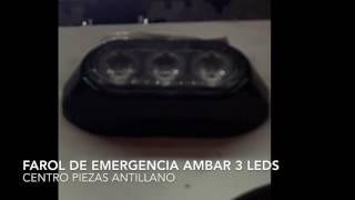 Farol de Emergencia Ambar LED MAXM20372YCL