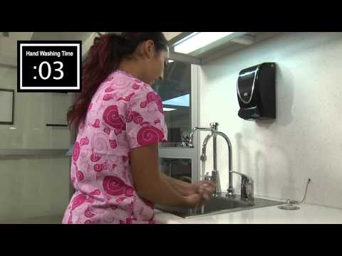 Hand-washing at Winthrop-University Hospital - Infection Prevention