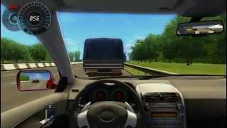 city car driving 1.2.2 - toyota corolla