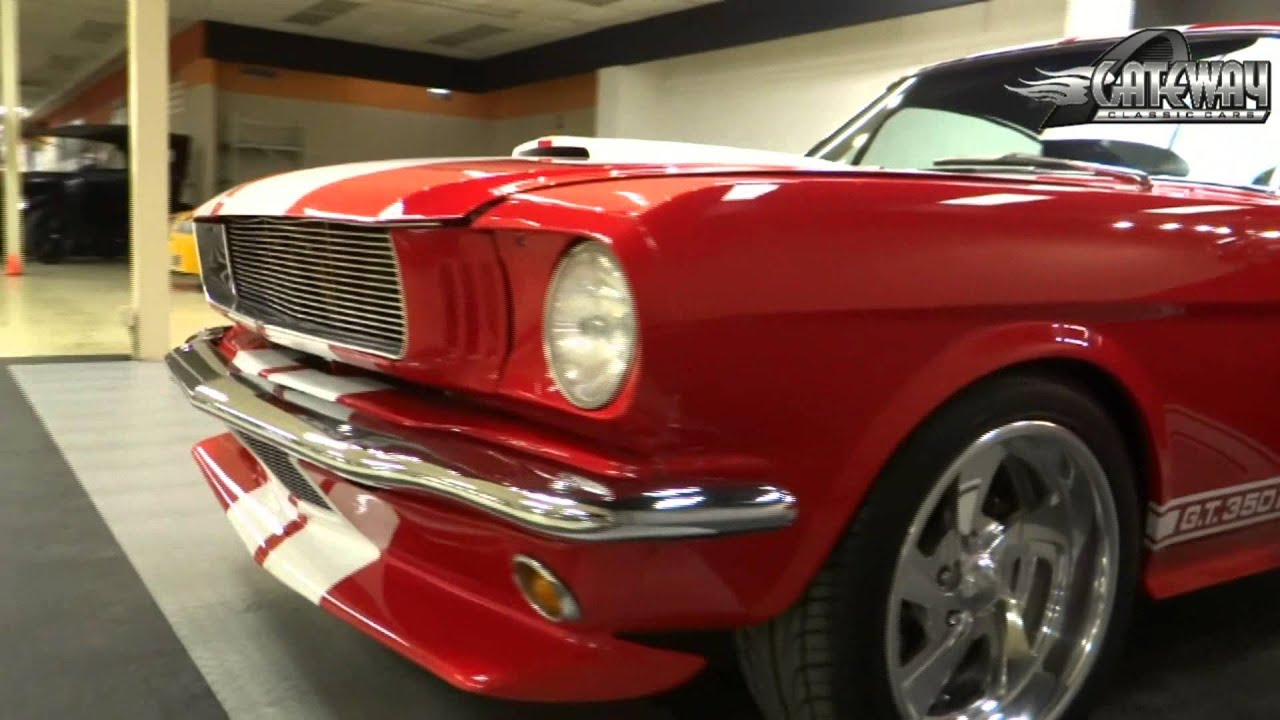 1966 ford mustang 2 2 fastback for sale at gateway classic cars in st louis mo youtube. Black Bedroom Furniture Sets. Home Design Ideas