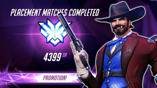 TOP 500 RANK MCCREE! FINAL PLACEMENT GAME! - Overwatch SEASON 7 Top 500 McCree Gameplay
