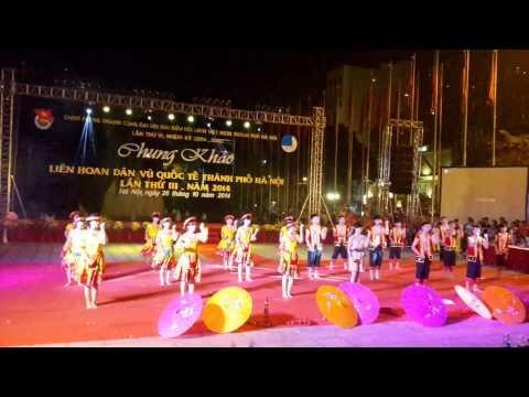 Chiếc Khăn Piêu - Chocolate - Chung khảo liên hoan dân vũ quốc tế Hà Nội lần thứ 3 Năm 2014