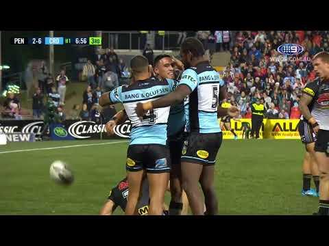 NRL Highlights: Penrith Panthers v Cronulla Sharks - Round 18
