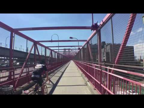Brooklyn to Manhattan with Citibike Summer 2016