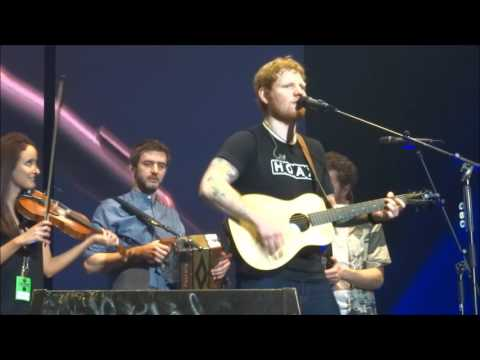 Ed Sheeran with Beoga - Galway Girl & Nancy Mulligan @ 3 Arena, Dublin 12/04/17