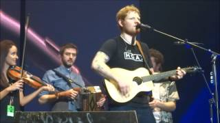 Ed Sheeran with Beoga - Galway Girl & Nancy Mulligan @ 3 Arena, Dublin 12/04/17