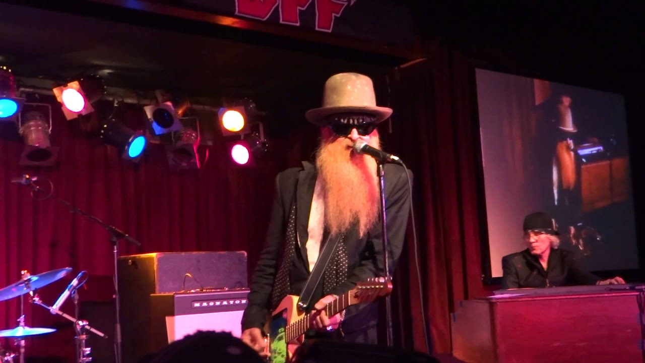 Moving Sidewalks featuring Billy Gibbons - You Make Me Shake - BB Kings NYC  3-30-13