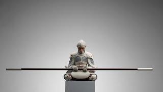видео Сюрреалистичные скульптуры животных от Wang Ruilin