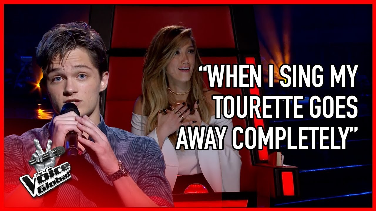 Guy with Tourette WOWS The Voice coaches | STORIES #4