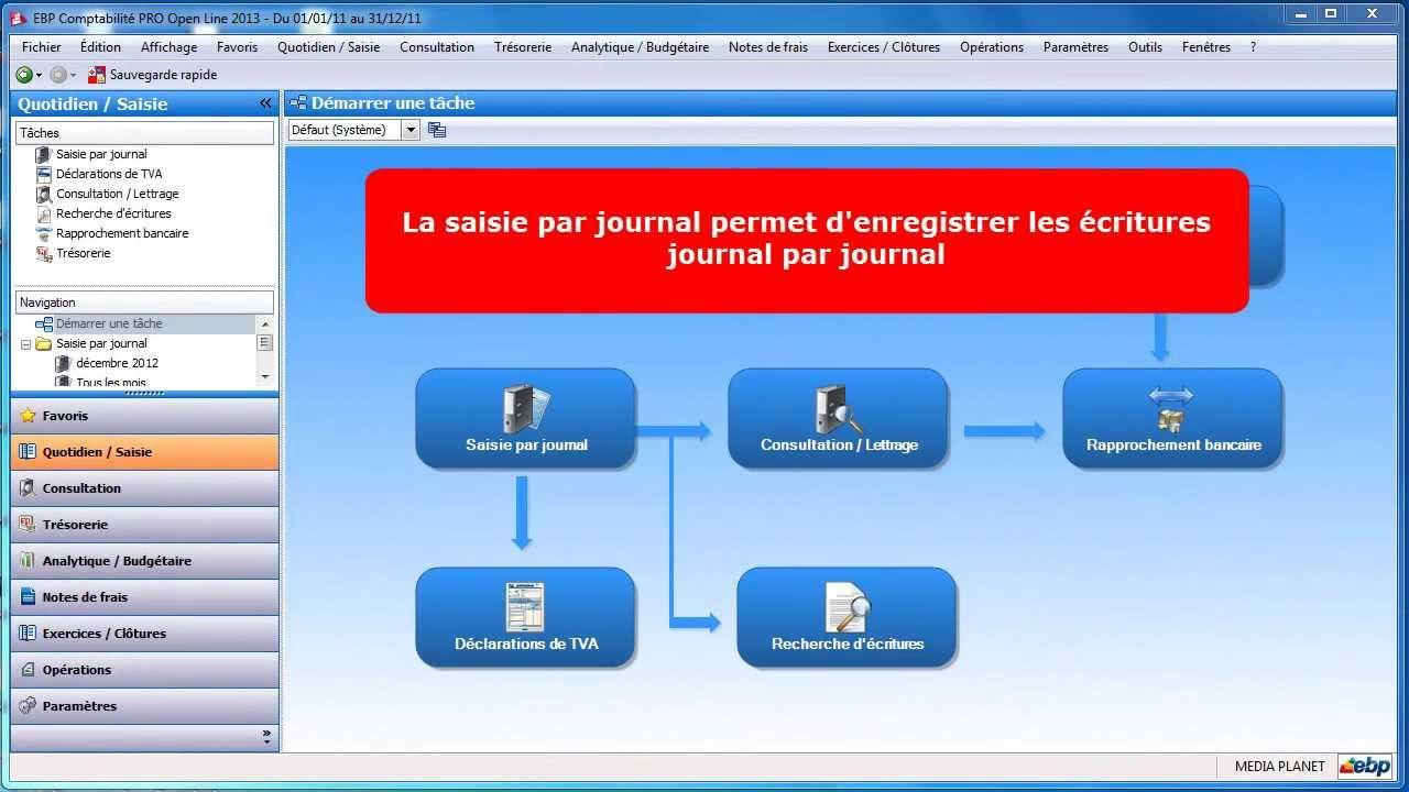 Ebp compta - Exercice d enregistrement comptable ...