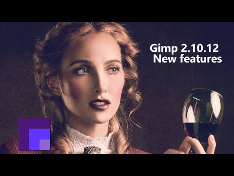 Gimp 2.10.12  - New features thumbnail