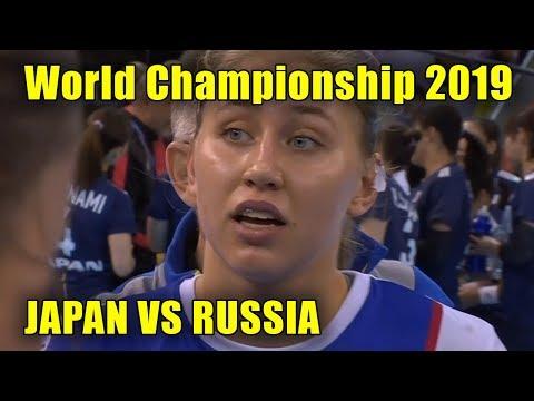Japan Vs Russia.  Women's Handball  World Championship 2019