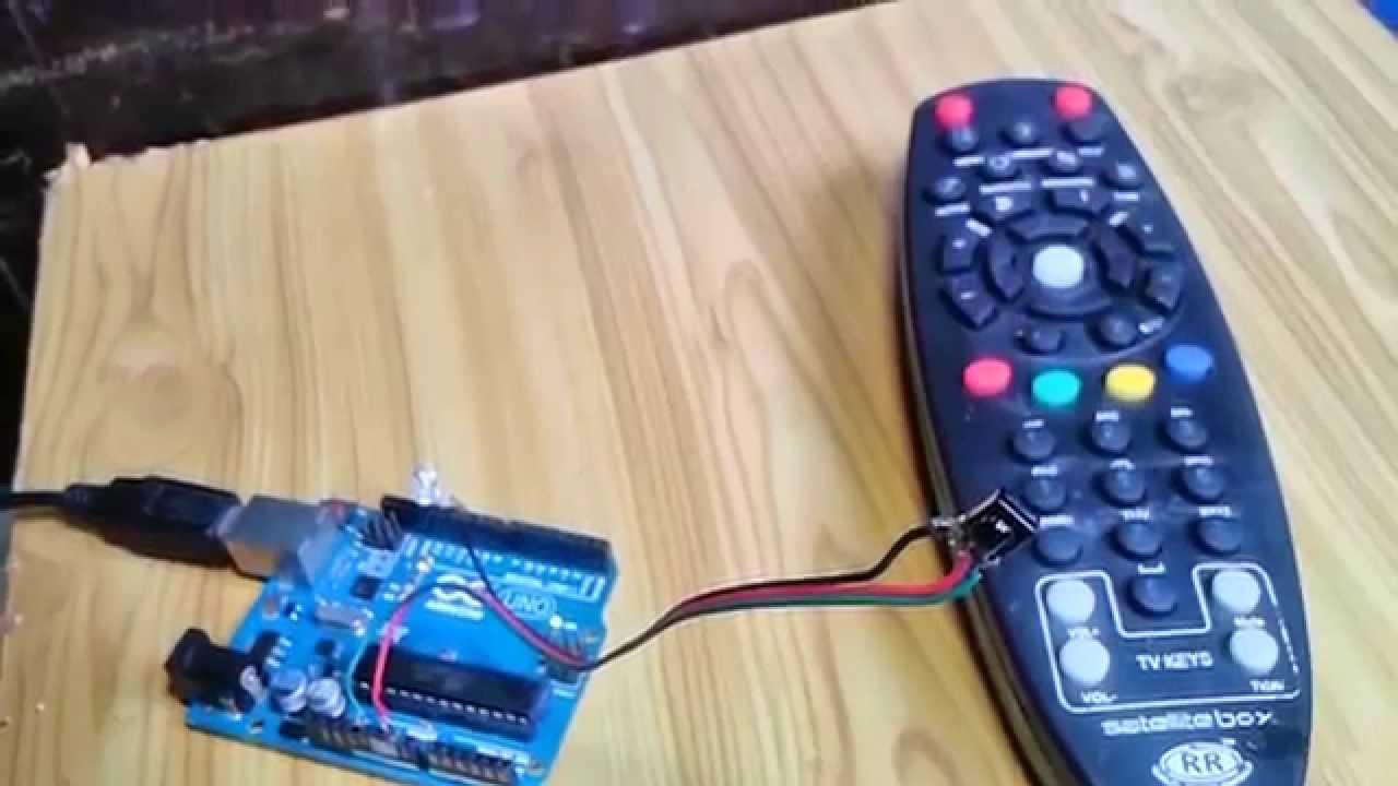Basic arduino ir remote control led using tv
