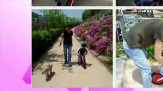 Showbiz Korea - Sun-ye returns to Korea with her husband | Actor Kwon Sang-woo's outing with his son