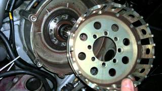 Ducati dry clutch removal 60 sec how to.wmv