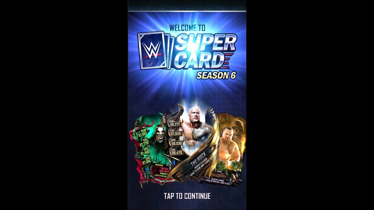 I GOT INTO WWE SUPERCARD SEASON 6 EARLY!!!! 30K PACK OPENING