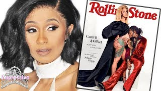 Cardi B is NOT happy with new Rolling Stone cover! (Find out why)