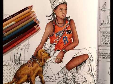 Working in Look Fashion Color Book