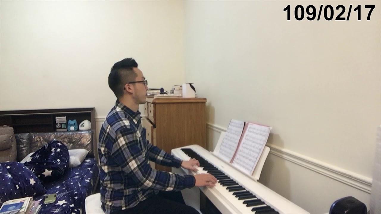 【鋼琴紀錄#19】練習Am和弦 假如愛有天意(3M1W) - YouTube