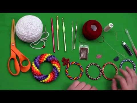 Bead Crochet Tutorial Series, Video 1: Bead Crochet Supplies