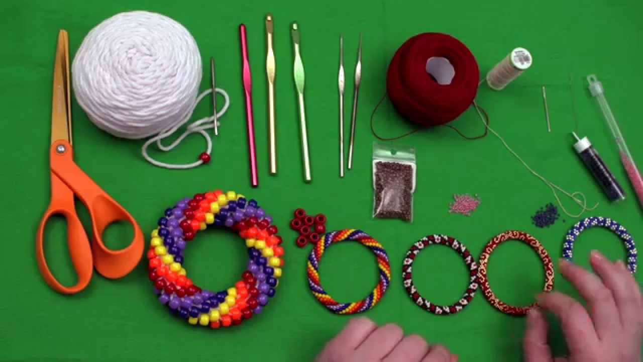 Crocheting Supplies : Bead Crochet Tutorial Series, Video 1: Bead Crochet Supplies - YouTube