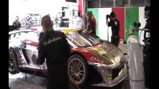 RIRE RACING 20111016 SGT R8決勝 余郷敦 織戸学その1 黒沢美怜 検索動画 28