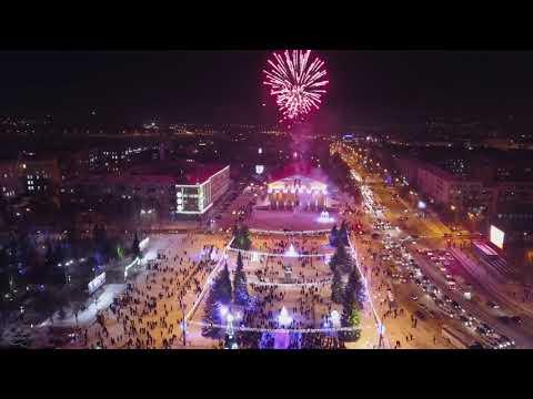 Церемония открытия ледового городка и главной ёлки в Нижнем Тагиле