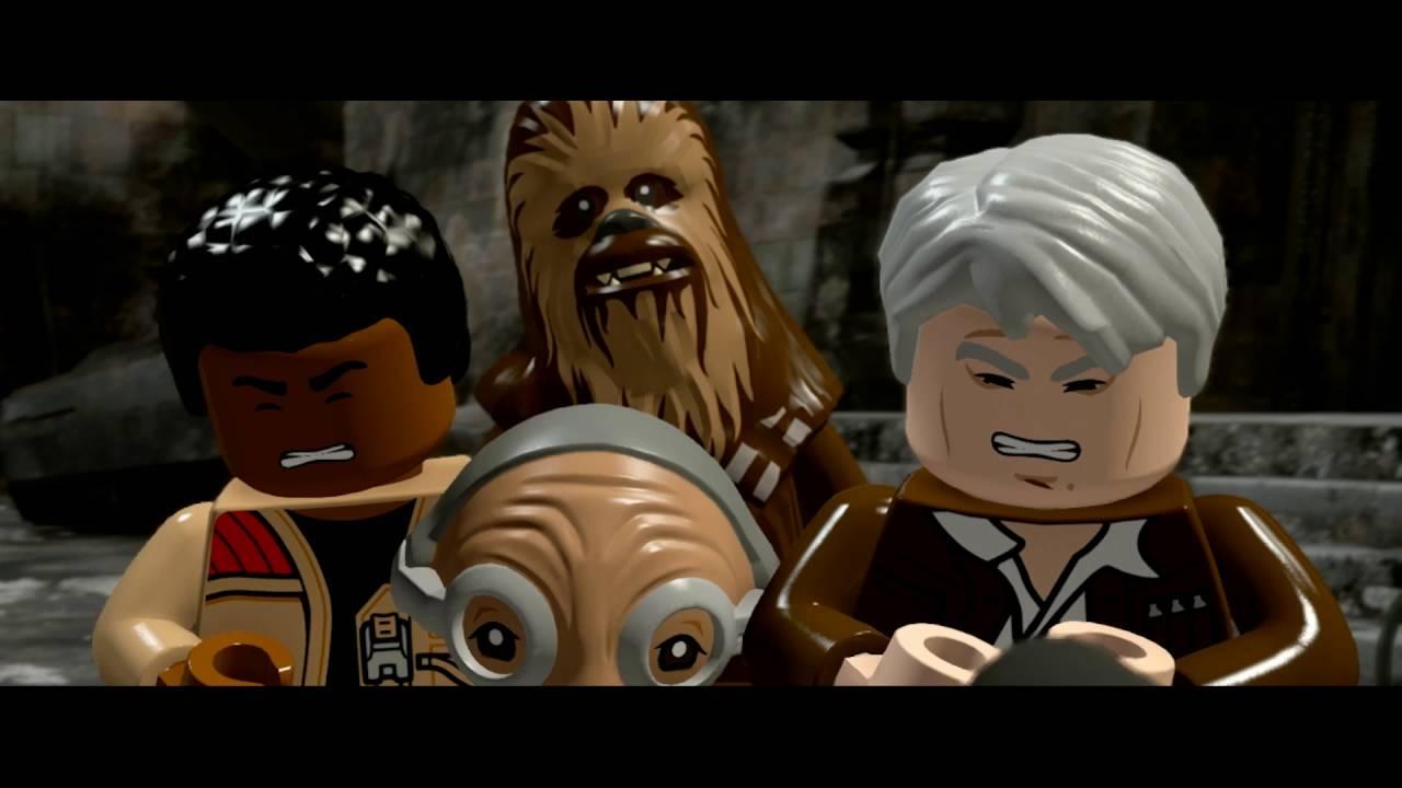 Trailer E3 Demo Lego Gwiezdne Wojny Przebudzenie Mocy Youtube